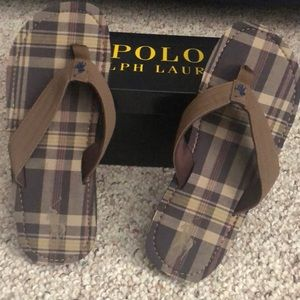 New in box Polo Ralph Lauren shoes size 7 youth